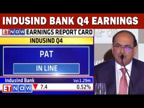 IndusInd Bank Q4 Earnings | #EarningsWithETNOW