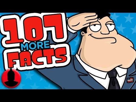 107 More American Dad Facts You Should Know! - (S5 E3) | ChannelFrederator