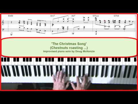 'The Christmas Song' - Jazz piano tutorial.