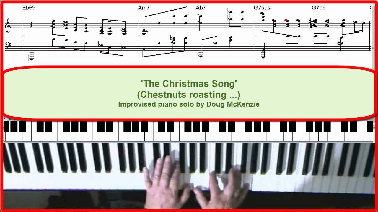 'The Christmas Song' - Jazz piano tutorial