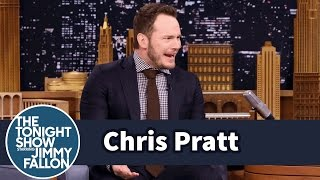Repeat youtube video Chris Pratt Retired His Go-To Michael Jackson Karaoke Song
