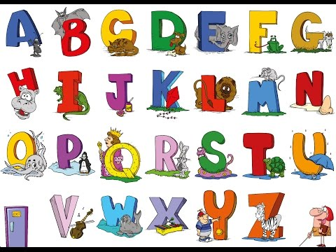 английский алфавит детям видео уроки