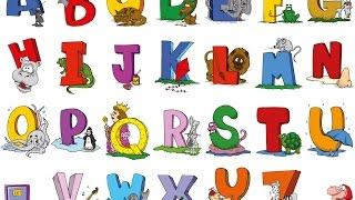 Обучающее видео для детей. Уроки английского языка. Английский алфавит. English for children