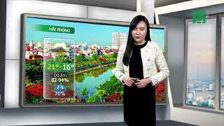 Thời tiết các thành phố lớn 20/01/2019:Thanh Hóa đến Hà Tĩnh không mưa rét nhẹ về đêm và sáng| VTC14