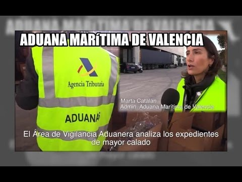 Asi trabaja la aduana del puerto de Valencia - Aduanas SVA