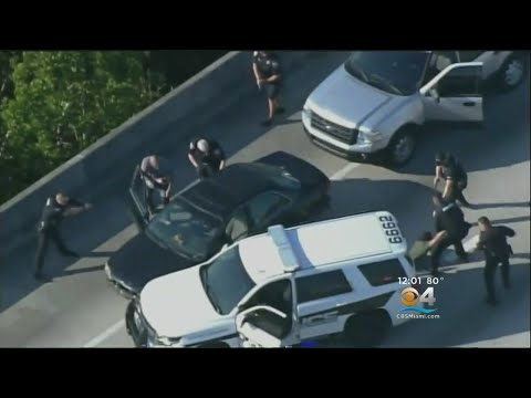 Police Chase Ends In Arrest On I-595