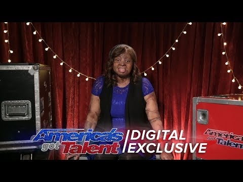 Singer Kechi Recalls Her Exciting AGT Performance - America's Got Talent 2017