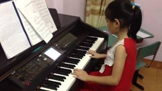 Độc tấu Piano Chỉ có một trên đời. solo by D. Anh 9 tuổi cực hay