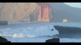Fort Point Surfing Golden Gate Bridge January 6, 2012