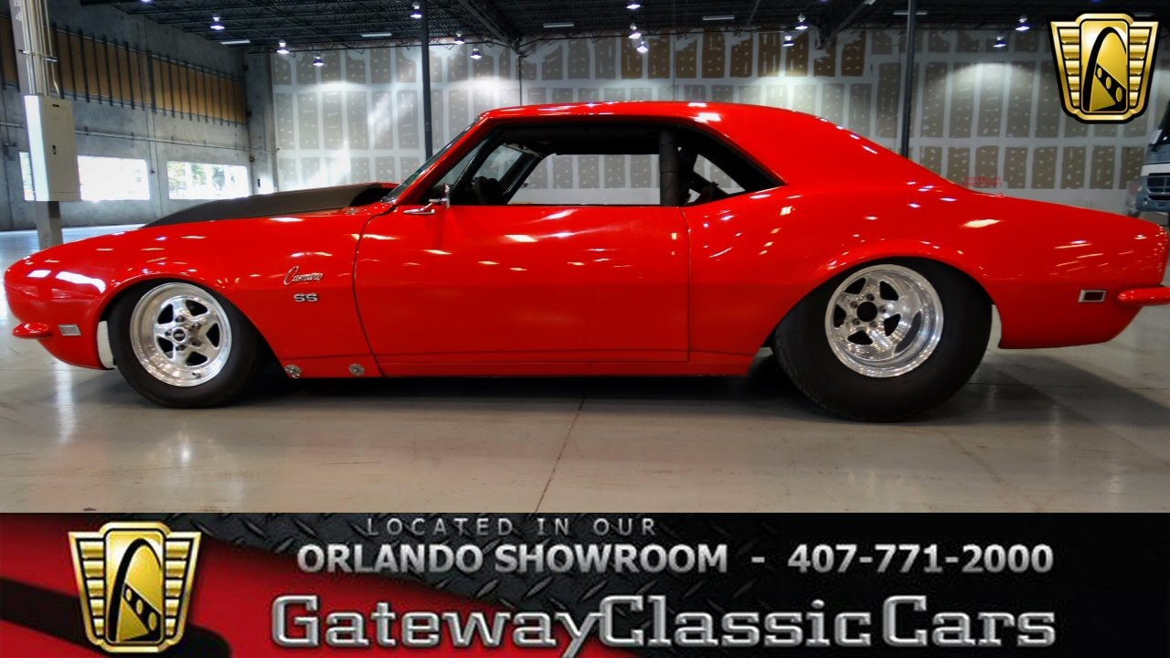 1968 Camaro Pro Street Ord 93 Youtube