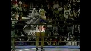 SN 4/20/96 Booty Man vs Punisher- Madusa vs Colonel Parker