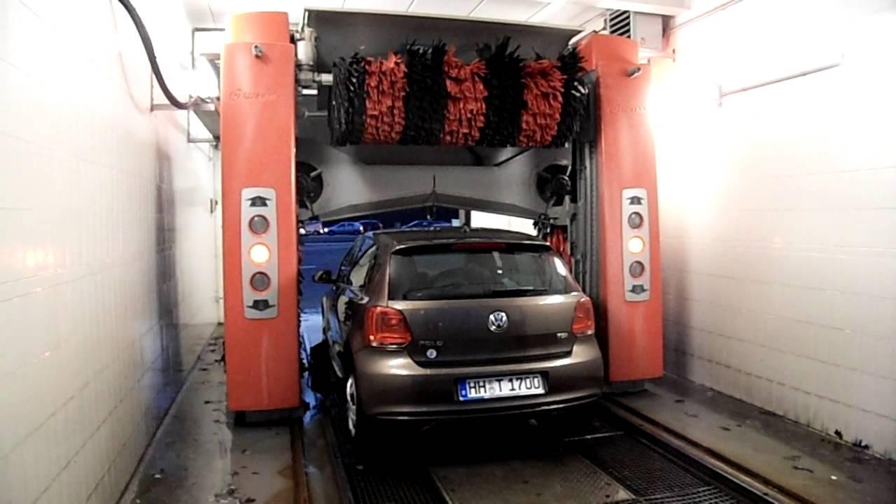 Find A Carwash >> Waschanlage Carwash Esso Washtec Softwash - YouTube