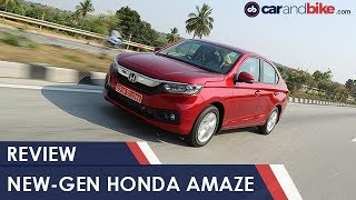 New-gen 2018 Honda Amaze Review | NDTV carandbike
