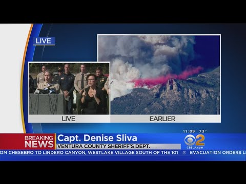 Authorities Ask Public To Avoid Flying Drones Over Woolsey Fire