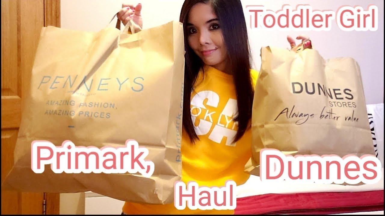 €183 ( Euro)  Dunnes| Primark | Winter Clothing Haul| Toddler Girl, & Mommy
