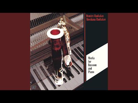 Eugene Bozza Fantasie pour Bassoon et piano