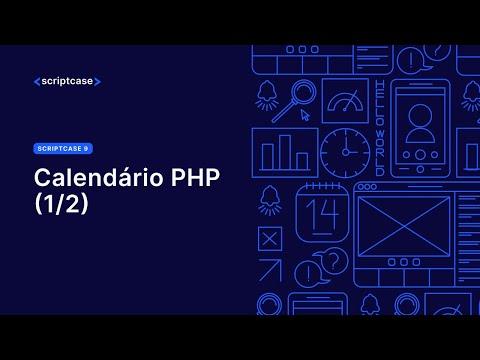Calendario Php.Scriptcase 9 Calendario Php Parte 01