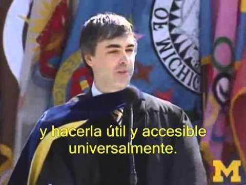 Discurso de Larry Page en Michigan(subtitulado español)