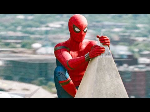 Washington Monument Rescue Scene - SPIDER-MAN: HOMECOMING (2017) Movie Clip