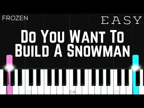 Frozen - Do You Want To Build A Snowman | EASY Piano Tutorial