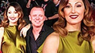 Anna Tatangelo e Gigi D'Alessio appassionati sul red carpet