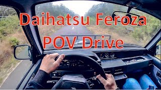 POV Drive Daihatsu Feroza 1997 1.6l 4x4