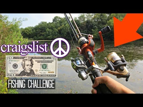 $20 Craigslist Fishing Challenge!! (Crazy Find!)