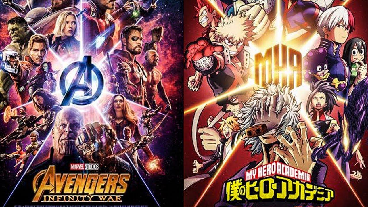 Boku No Hero Academia  Avengers Crossover, Live Action De -4565
