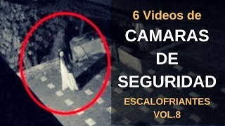 6 VÍDEOS DE CÁMARAS DE SEGURIDAD Escalofriantes Vol. 8 l Pasillo Infinito