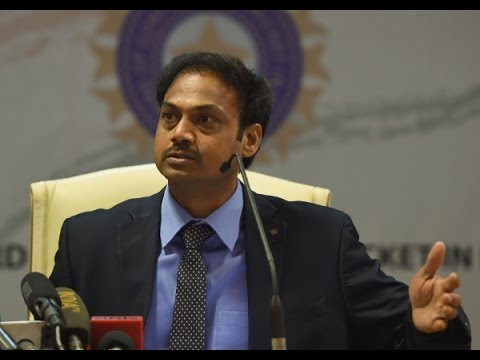 M S K  Prasad - Chief Selector BCCI , Former Indian Cricket player