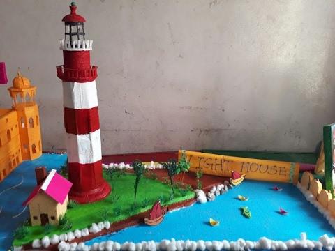 Model Of Light House