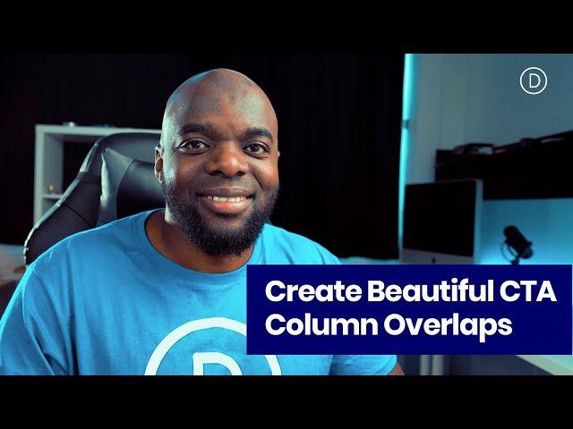 Using Transparent Images to Create Beautiful CTA Column Overlaps with Divi