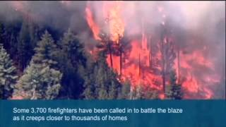California  Yosemite wildfire grows in area   video   World news   theguardian com