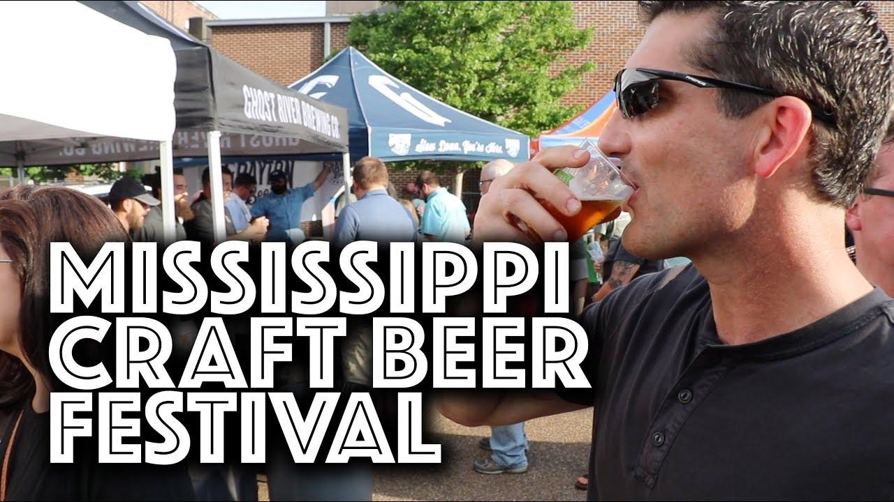fondren hosts fourth annual mississippi craft beer festival youtube