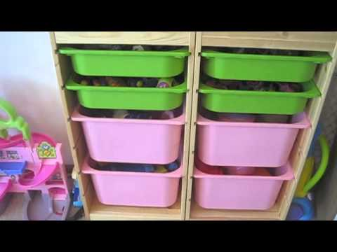 IKEA Trofast Toy Storage System Review!   YouTube