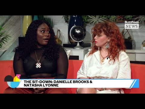 OITNB's Natasha Lyonne And Danielle Brooks Hang Out On Set