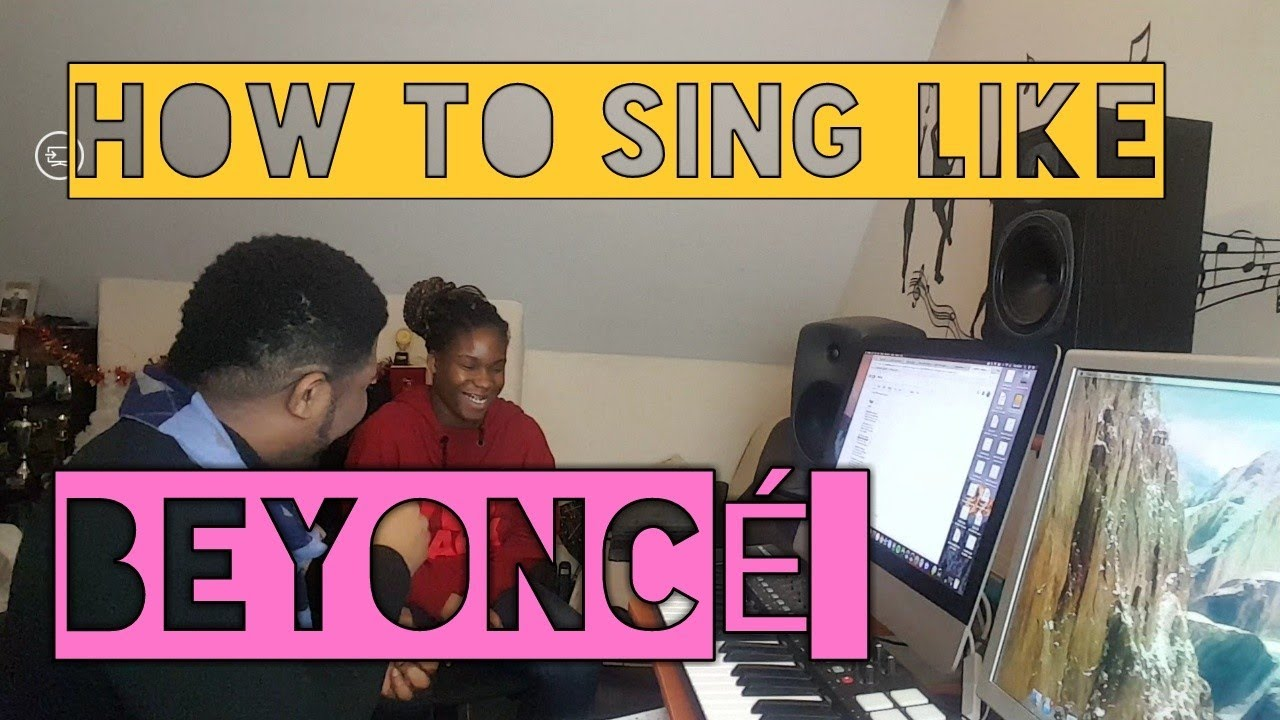 how to sing like beyonce singing lessons youtube. Black Bedroom Furniture Sets. Home Design Ideas