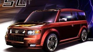 #3241. Honda Element SC 2007 (супер видео)