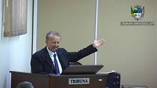 2ª Sessão Ordinária - Vereador Pinatto