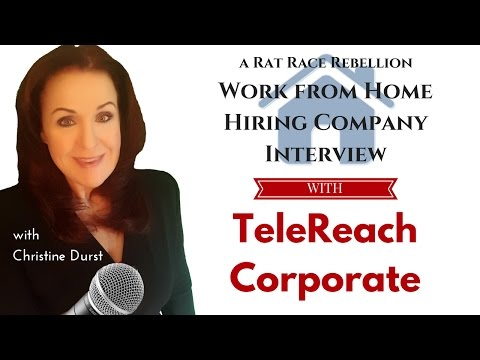 A Work from Home Interview with TeleReach Corporate