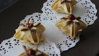 Marokkanisches Blumengebäck - Halwat Jasmina - حلوة الياسمينة