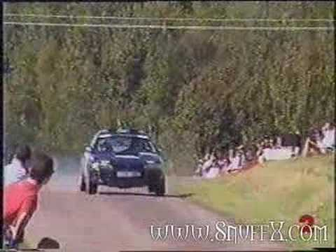 rally car crash youtube. Black Bedroom Furniture Sets. Home Design Ideas
