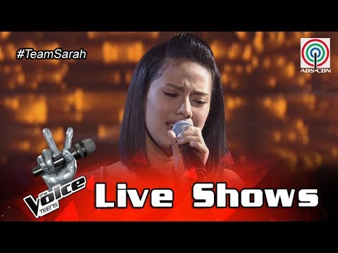 The Voice Teens Philippines Live Show: Nisha Bedaña - All I Ask