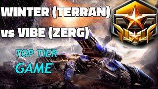 Starcraft 2: Heavy Metal - Winter (T) vs Vibe (Z)
