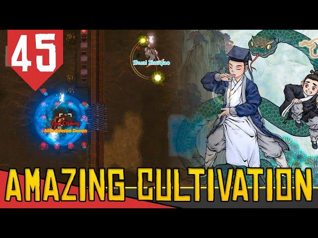 Contra o CULTIVADOR ANCIÃO - Amazing Cultivation Simulator Immortal #45 [Gameplay PT-BR]