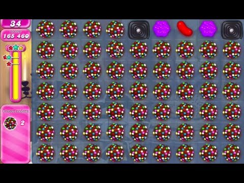 candy crush saga Level 519 INSANE 59 COLOR BOMB COMBO