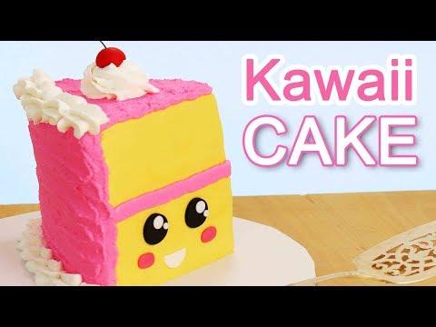 ❤-easiest-kawaii-slice-of-cake!