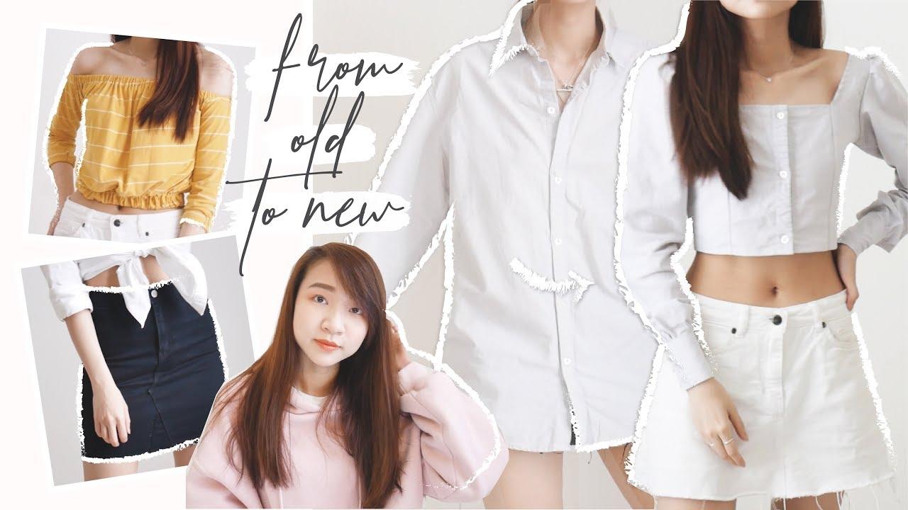 OLD TO NEW / Biến quần áo cũ thành quần áo mới