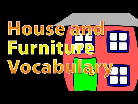 House and furniture vocabulary | Learn english vocabulary with Pictures