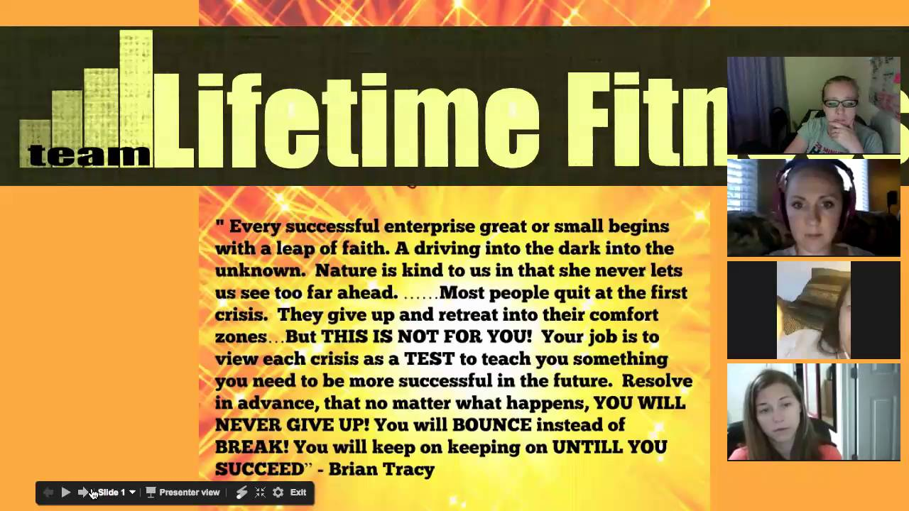 Lifetime Fitness TEAM CALL - KILL your FEAR, YOU HAVE WHAT IT ...